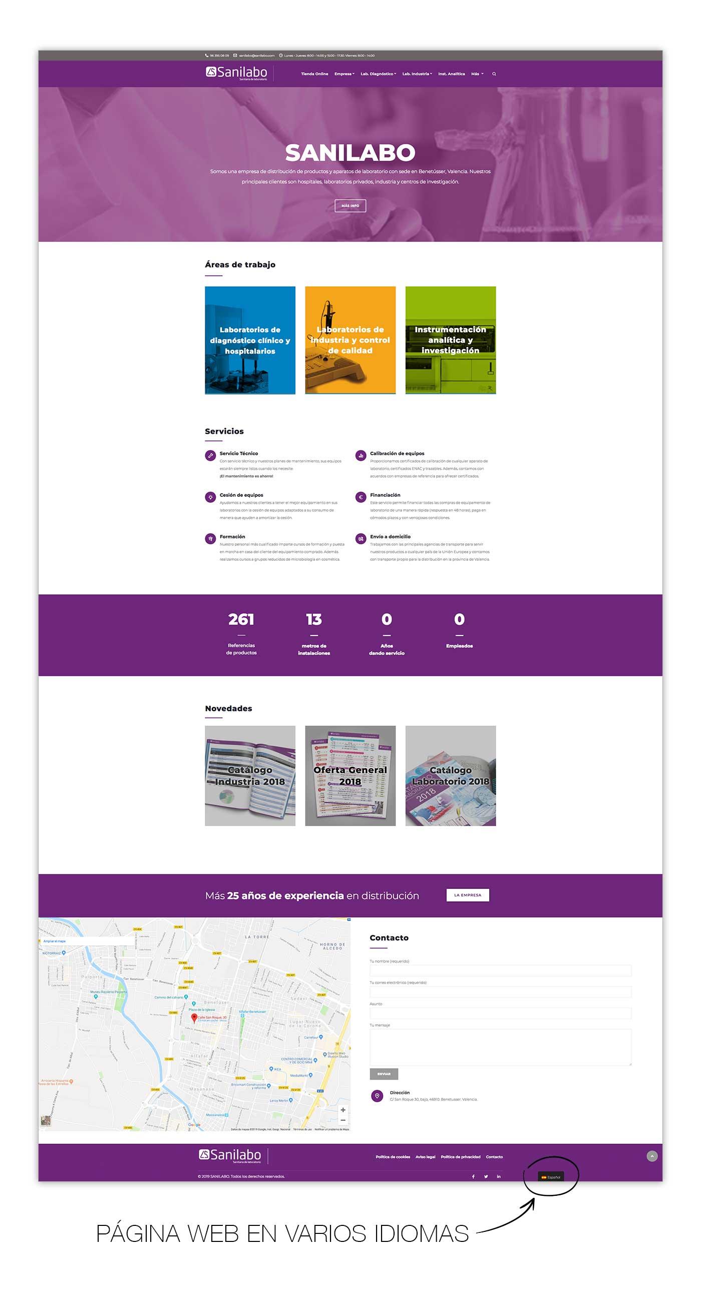 Joan Ibañez Diseño y Marketing - Web responsive