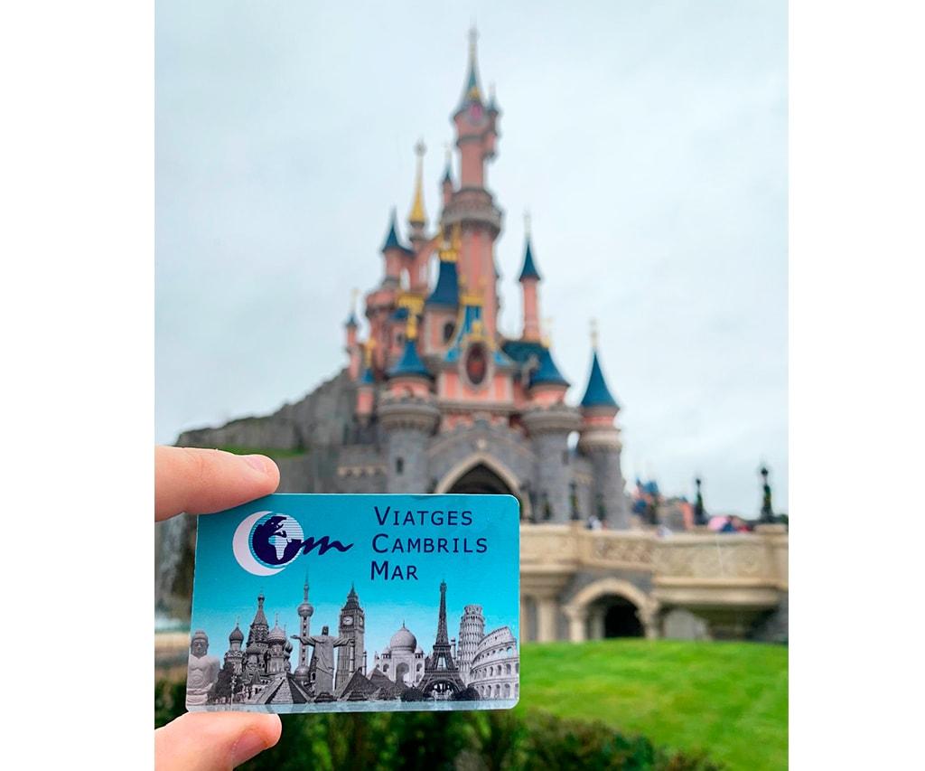 Diseño-tarjetas-visita-Viaje-Disneyland-Paris