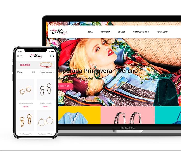 Diseño de Tienda Online en Tavernes de la Valldgina